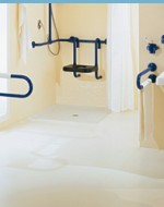 Mi piace immergersi nella bagno di casa: Ausili disabili asl x bagno