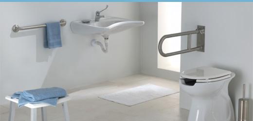 Rendi il bagno sicuro per anziani e disabili con - Accessori bagno disabili ...