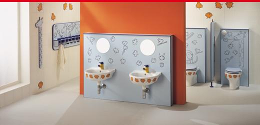 bagni per bambini campania