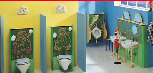 bagni per scuole bambini napoli salerno caserta